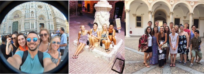Italian Students in Urbino and Florence!