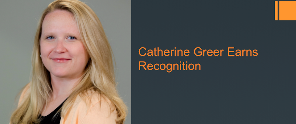 Catherine Greer (PhD Candidate German Studies) Wins Prestigious Fellowships!