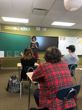Visits to High School Chinese Classes