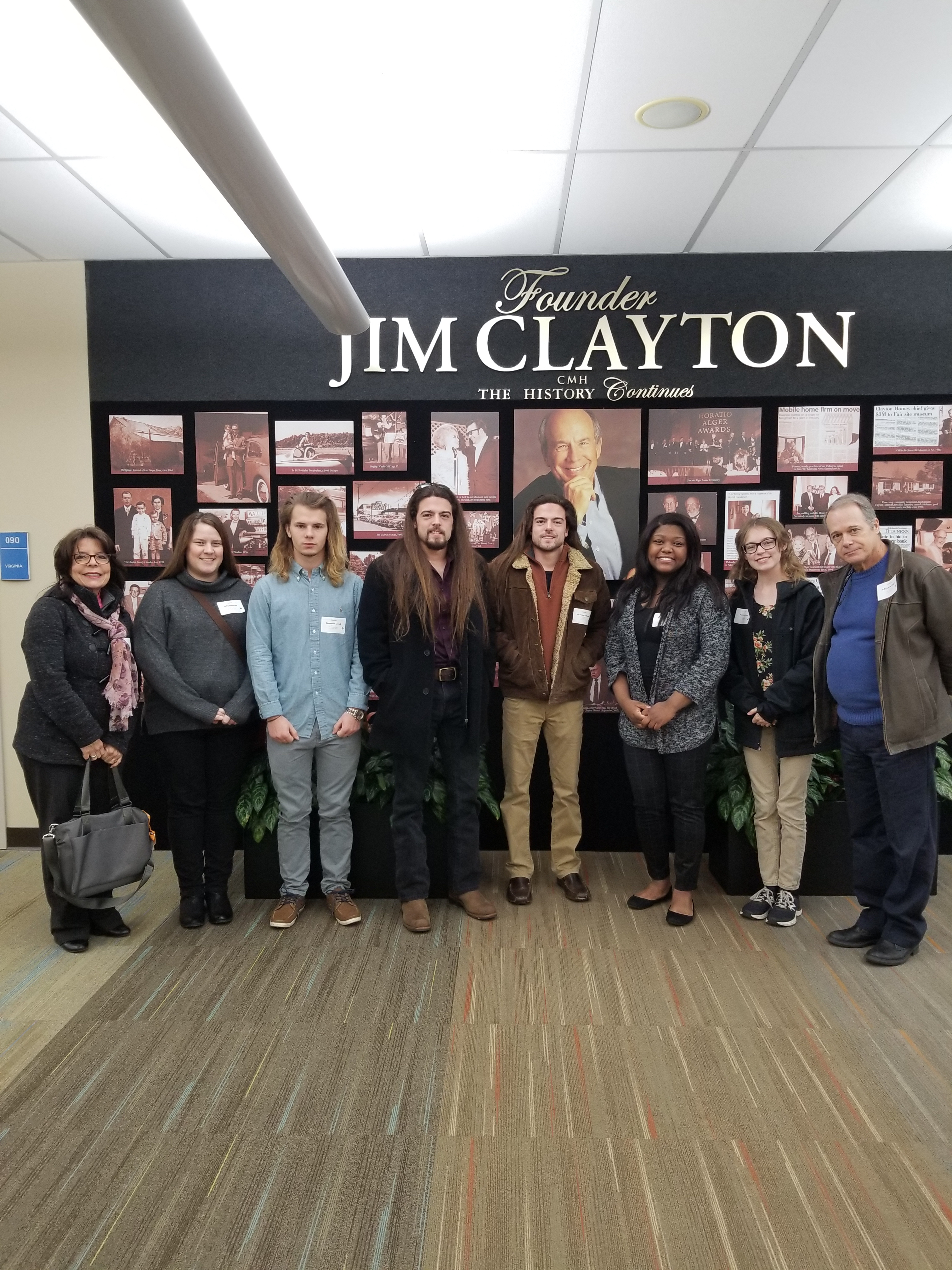 MFLL 199 Class Trip to Clayton Homes in Maryville, TN