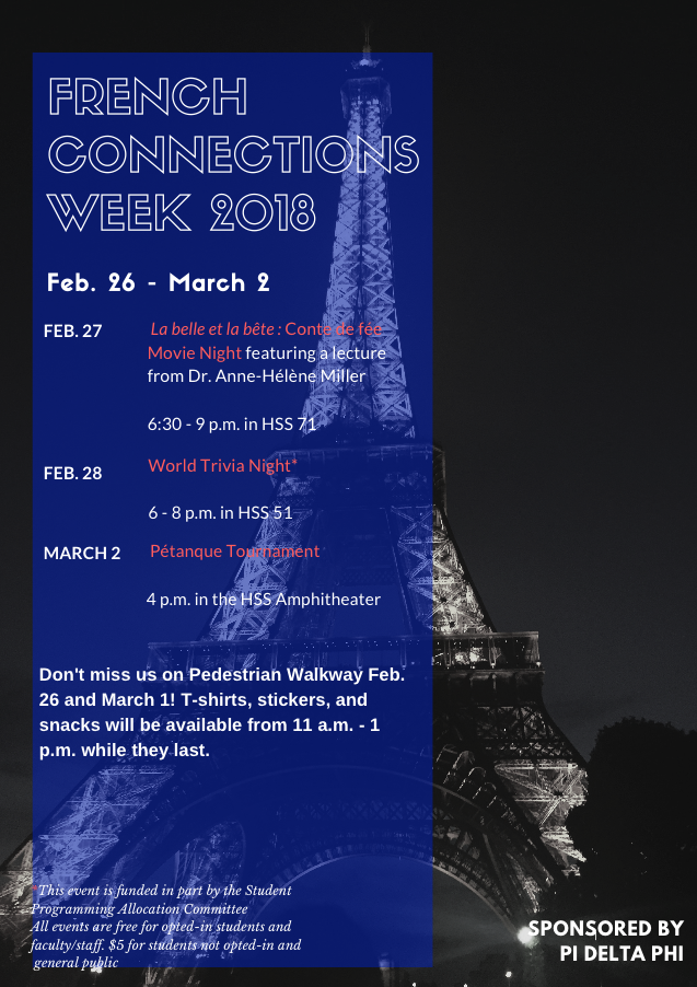 French Connections Week 2018
