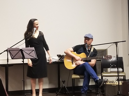 Live performance at the Brazilian Film Series